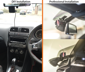 In Car Camera Installation methods