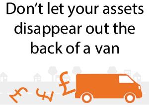 Image: Van theft