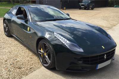 Image: Dash Camera Fitting Ferrari FF
