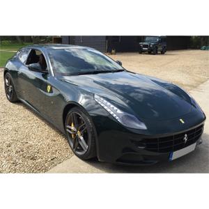 Image: Dash Camera Fitting Ferrari FF