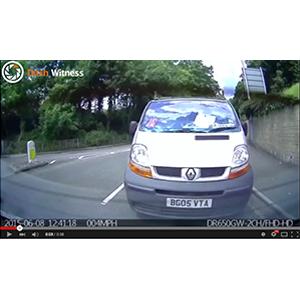 Image: Impatient Driver On Dash Cam