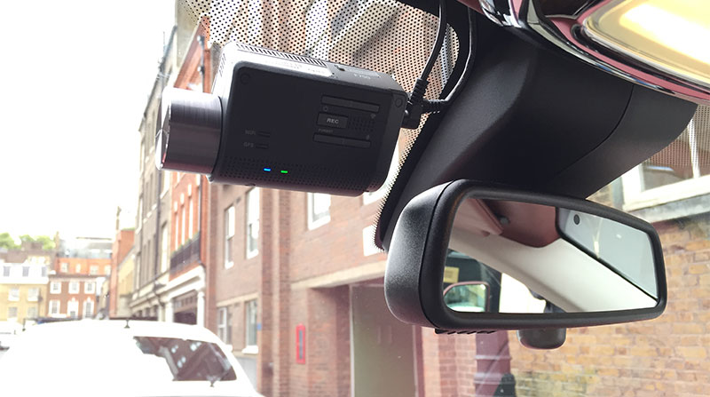 Fitted Thinkware F750 Dash Cam