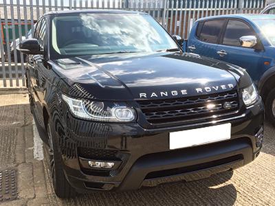 Range Rover Sport Dash Cam Install