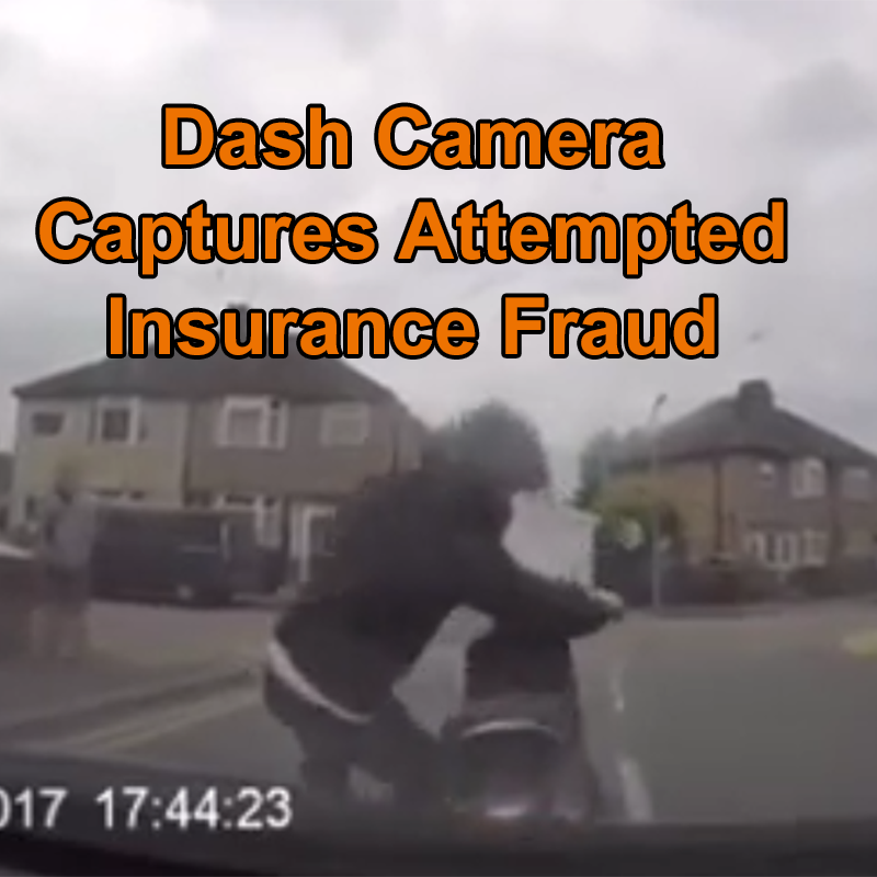 Dash Camera Captures Attempted Insurance Fraud