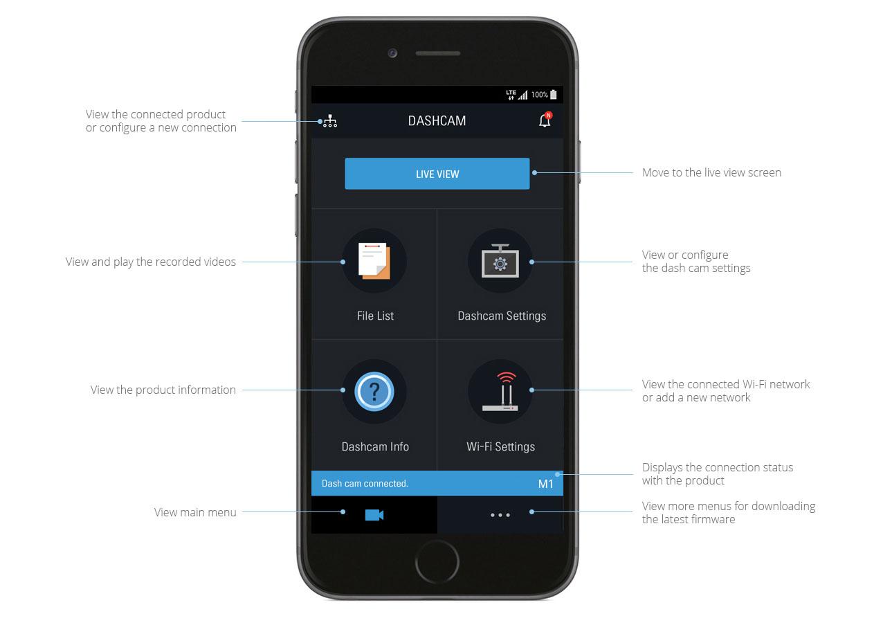 Thinkware Mobile Viewer App M1