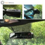 Thinkware F770 Dash Cam Behind Mirror