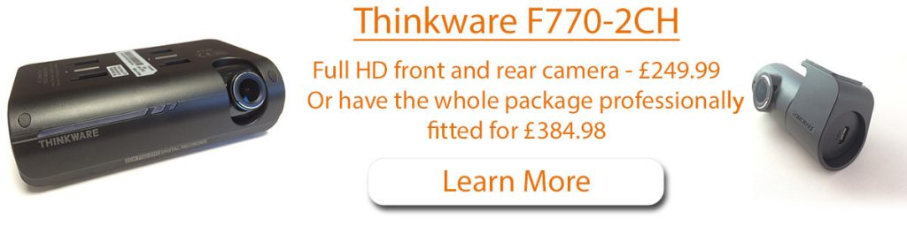 Thinkware F770 2ch