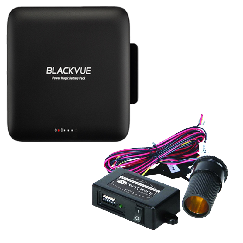 BlackVue Hardwire options battery pack review