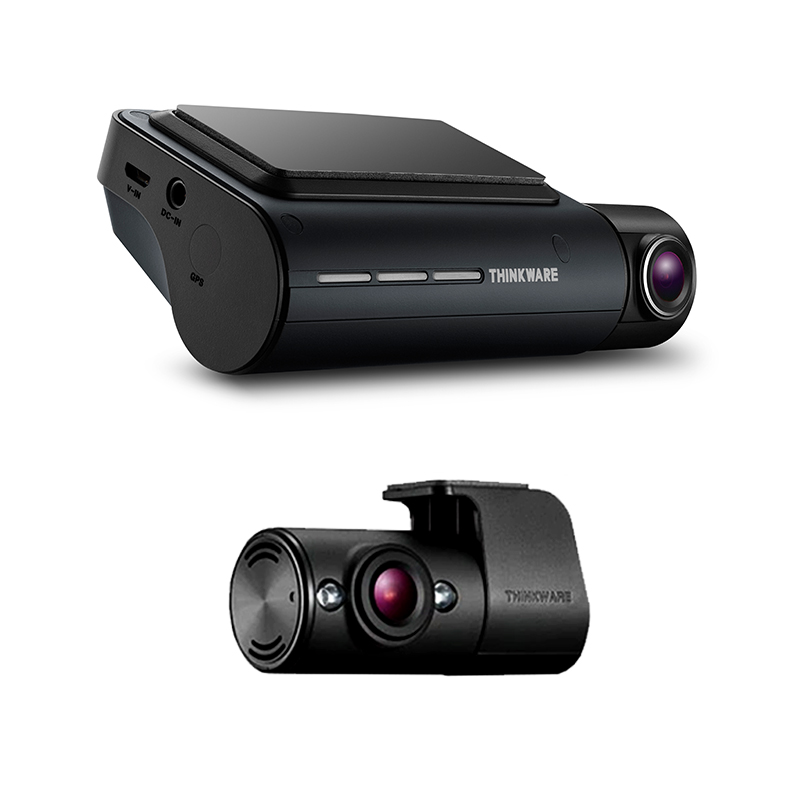 Thinkware Q800 Pro 2 Channel Dash Camera Front and Rear