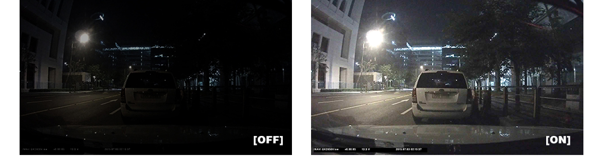 Thinkware X700 Dash Cam Best Night Vision