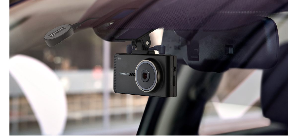 front dash cam with all wires hidden