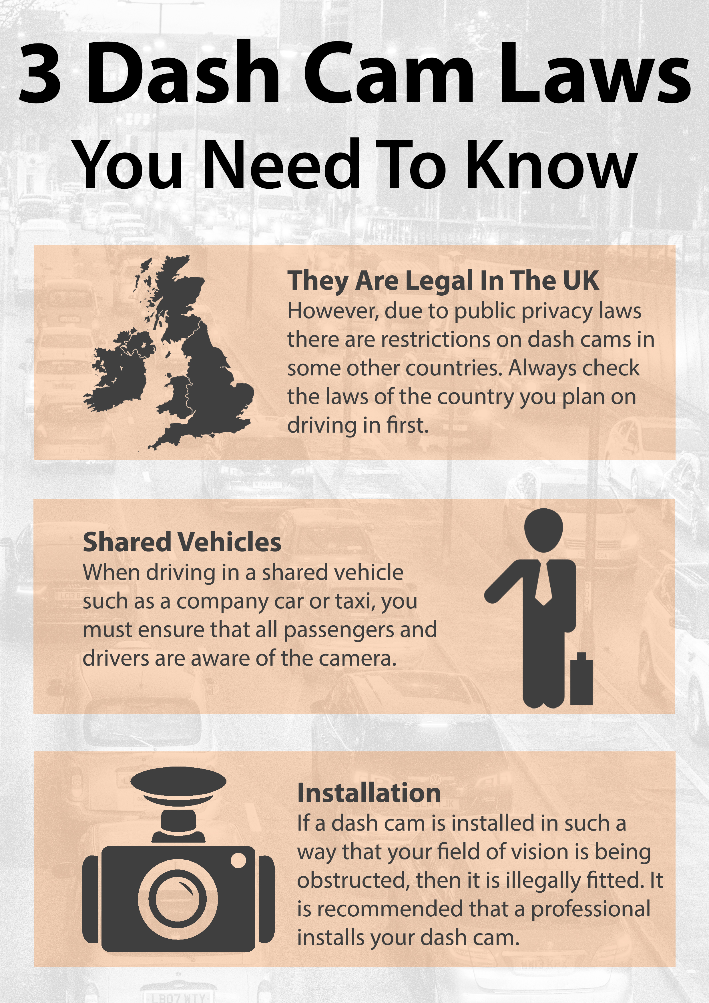 3 Dash Cam Laws You Need To Know